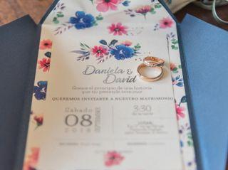 El matrimonio de Daniela y David 1