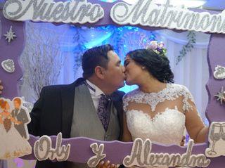 El matrimonio de Alexandra  y Orly  2