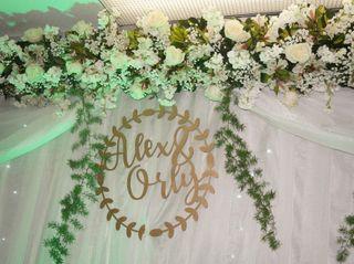 El matrimonio de Alexandra  y Orly  3