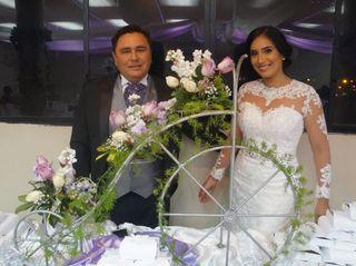 El matrimonio de Alexandra  y Orly