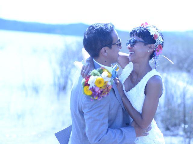 El matrimonio de Isabel  y Julian  en Calima, Valle del Cauca 2