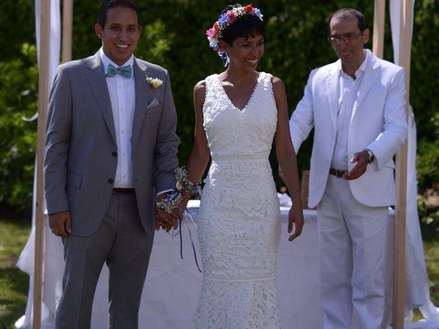 El matrimonio de Isabel  y Julian  en Calima, Valle del Cauca 8