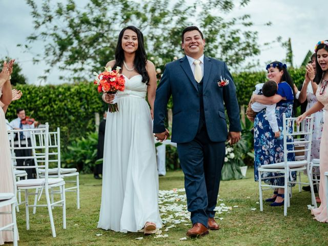 El matrimonio de Johanna y Rafaél