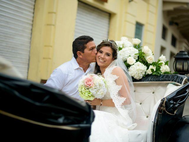 El matrimonio de Hugo y Natalia en Cartagena, Bolívar 12