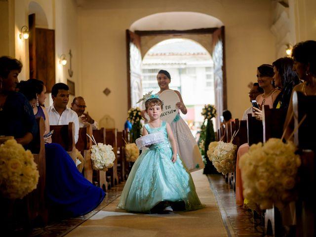 El matrimonio de Hugo y Natalia en Cartagena, Bolívar 13