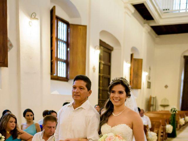 El matrimonio de Hugo y Natalia en Cartagena, Bolívar 14