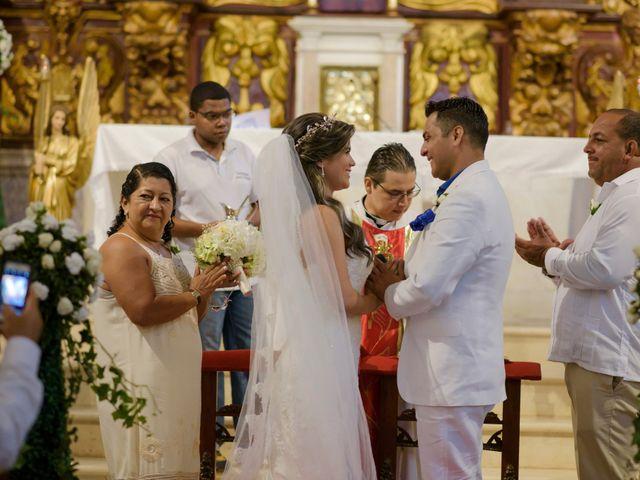 El matrimonio de Hugo y Natalia en Cartagena, Bolívar 15