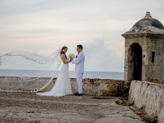 El matrimonio de Hugo y Natalia en Cartagena, Bolívar 19