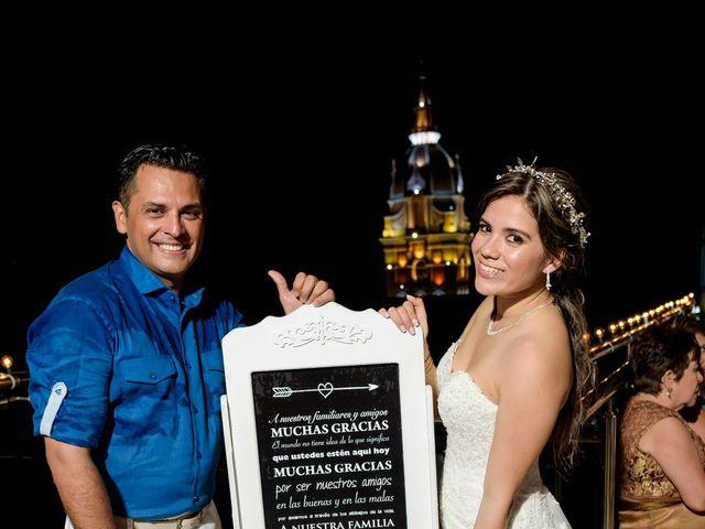 El matrimonio de Hugo y Natalia en Cartagena, Bolívar 39