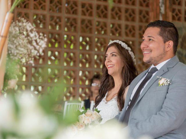 El matrimonio de Verónica y Juan Felipe