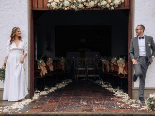 El matrimonio de Libia y Carlos 1