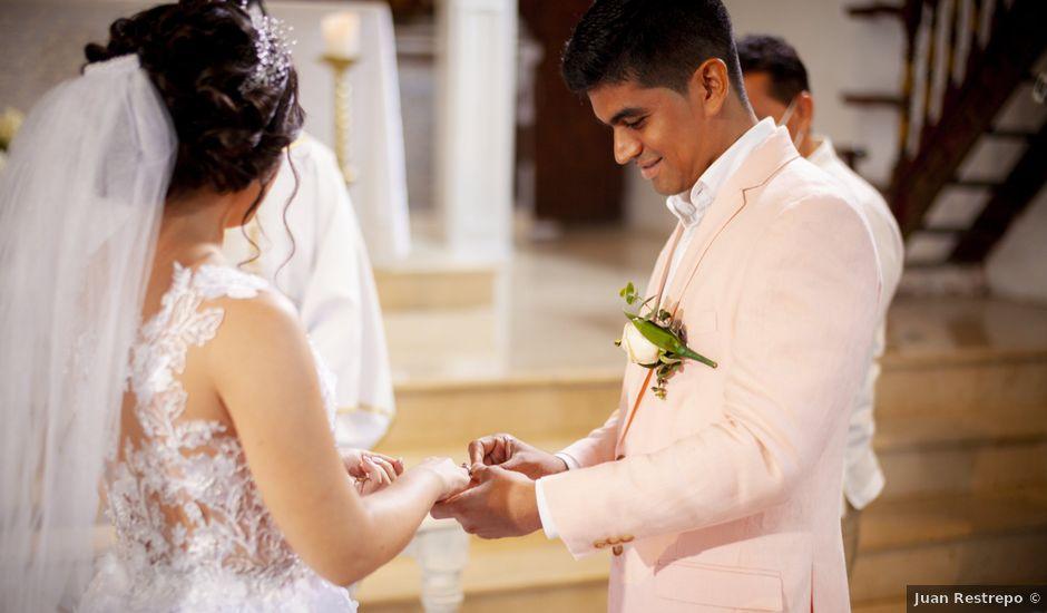El matrimonio de Chaheer y Gisseth