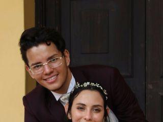 El matrimonio de Alix  y Héctor  1