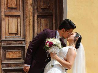 El matrimonio de Alix  y Héctor  2