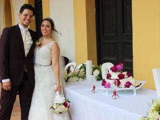 El matrimonio de Alix  y Héctor