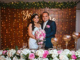 El matrimonio de Daniela y Pascual
