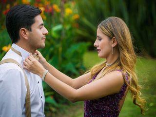 El matrimonio de Hazlady y Rodrigo