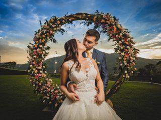 El matrimonio de Daniela y Kevin