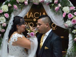 El matrimonio de Martha y Diego