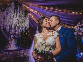 El matrimonio de Lorena y José