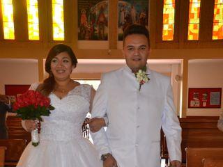 El matrimonio de Yury y Andrés