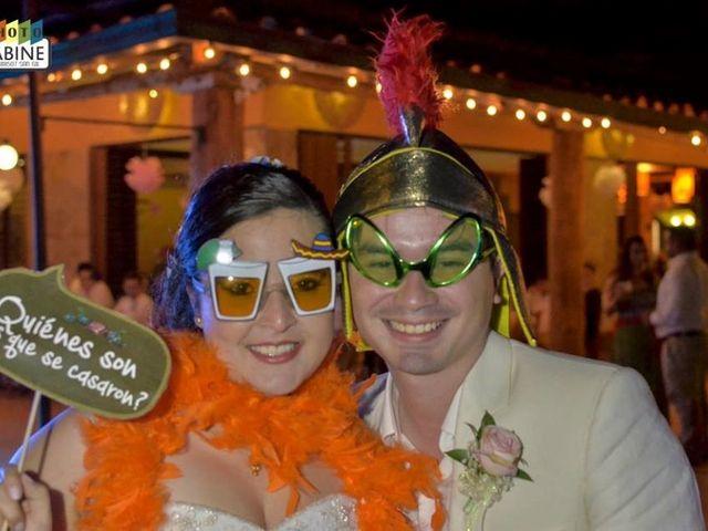 El matrimonio de Carlos  Alberto y María Fernanda