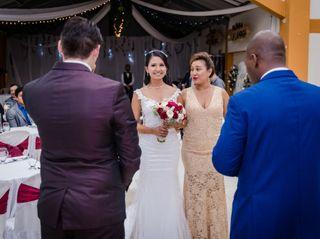 El matrimonio de Cristian y Natalia 1