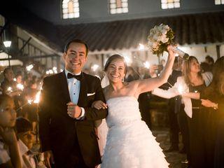 El matrimonio de José Gregorio y Magda Milena
