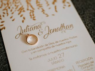 El matrimonio de Juliana y Jonathan 2