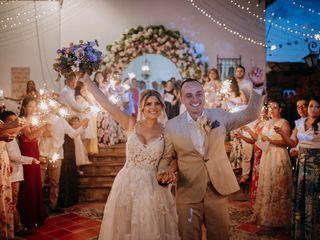 El matrimonio de Juliana y Jonathan
