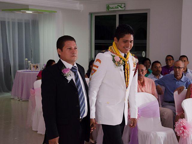 El matrimonio de Andrés y Erika en Cartagena, Bolívar 3