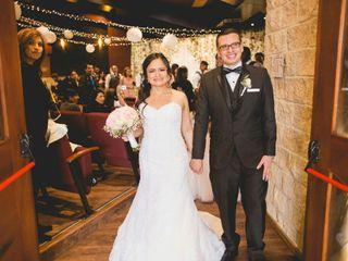 El matrimonio de Diana y Alex