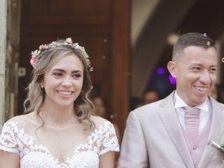 El matrimonio de Luisa Fernanda  y Fabián Andrés  1