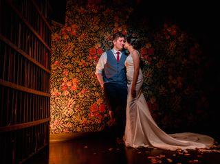 El matrimonio de Christian y Valentina