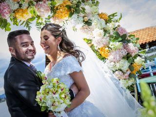 El matrimonio de Camila y Frank