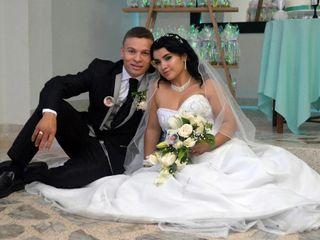 El matrimonio de Heidy y Fredy