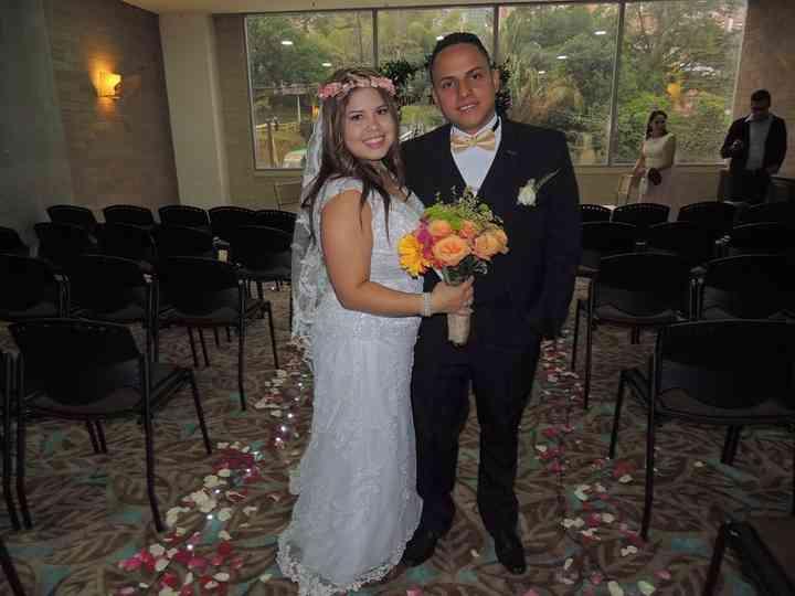 El matrimonio de Kelly y Dilver