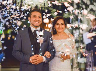 El matrimonio de Yuli y Yurgen