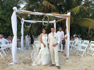 El matrimonio de María Alejandra y John Bayron