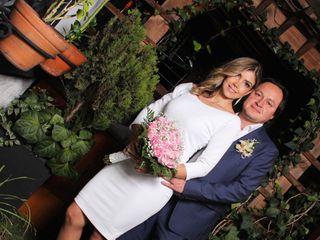 El matrimonio de Tatiana y Mario
