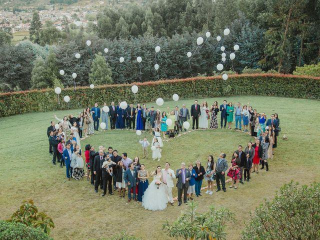 El matrimonio de Leonardo y Angela en Tibasosa, Boyacá 73