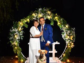 El matrimonio de Nathaly y John