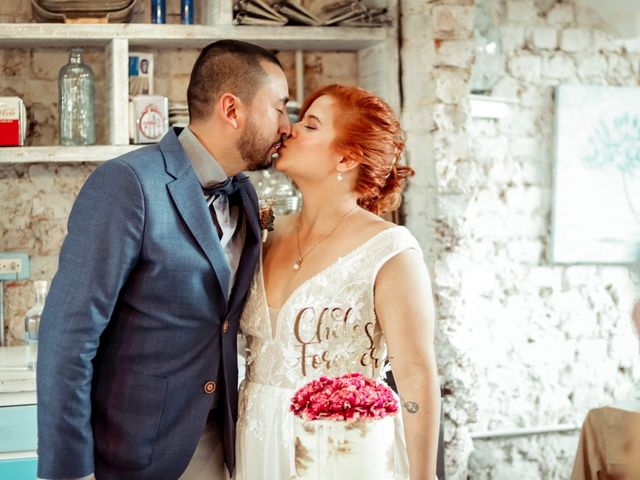 El matrimonio de Daniela  y Diego