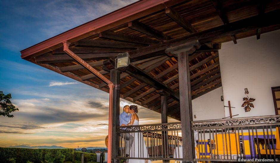 El matrimonio de Gustavo y Geraldine en Montenegro, Quindío