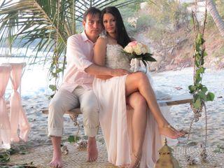 El matrimonio de María Cristina y Vladimir
