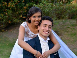 El matrimonio de Wilson  y Camila