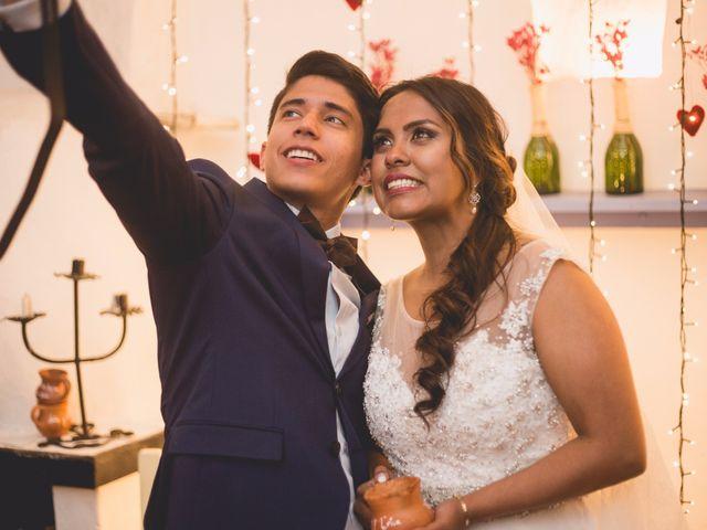 El matrimonio de Leidy y Erick