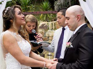 El matrimonio de Angie y Norberto