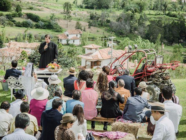 El matrimonio de Lucas y Yaneth en Villa de Leyva, Boyacá 26