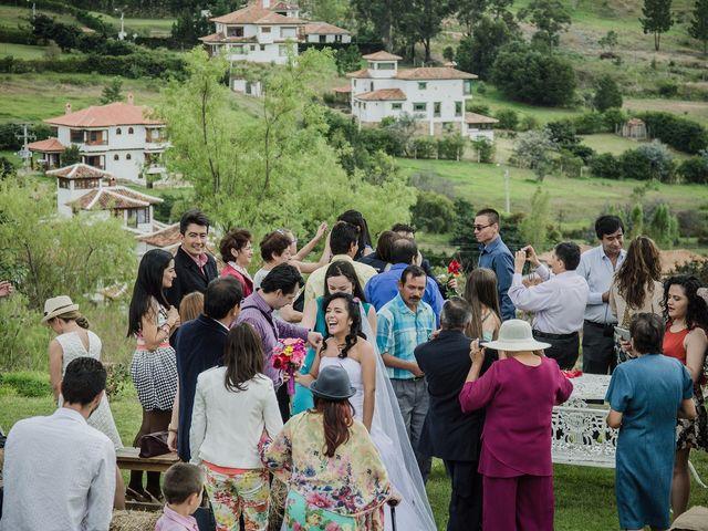 El matrimonio de Lucas y Yaneth en Villa de Leyva, Boyacá 29